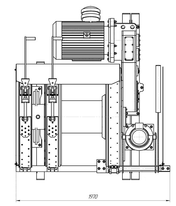 Лебедка ЛВ-45