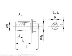 Схема и габаритные размеры редуктора редуктора 1Ц3У-250