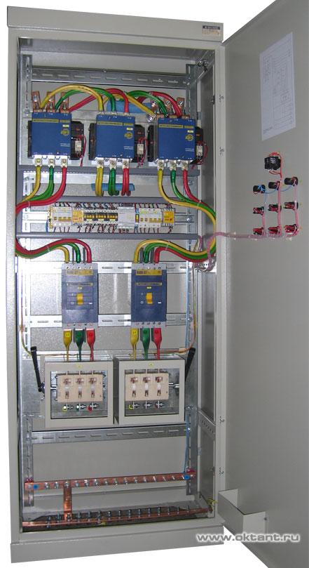 Шкаф автоматического включения резерва АВР