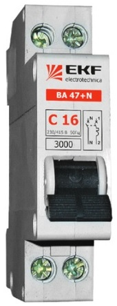 Автоматические выключатели ВА 47 + N